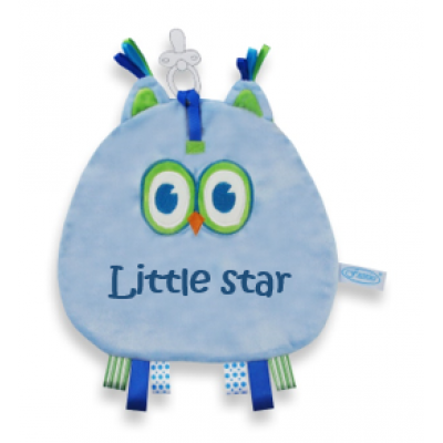 "Speendoek Uil ""Little star"""