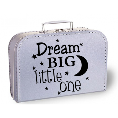 "Koffertje ""Dream big little one"""