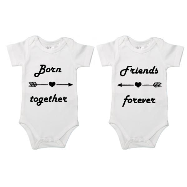 Rompertje Tweeling Born Together Friends Forever