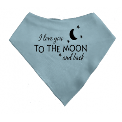 "Puntslabbetje ""I love you to the moon and back"""