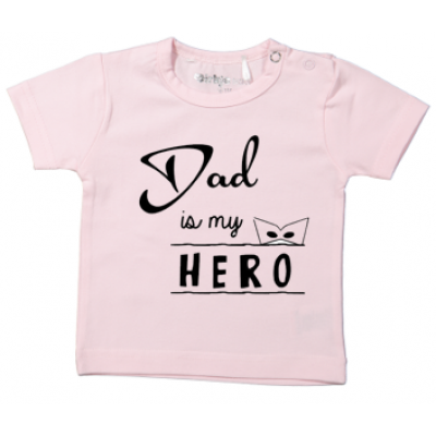 "T-shirt  ""Dad is my hero"""