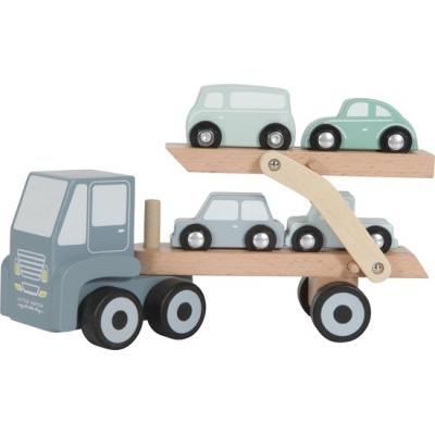 Houten transportwagen Little dutch