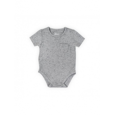 Romper korte mouw Speckled grey